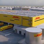 SML est en charge du lot métallerie du chantier GSE de la nouvelle plate-forme logistique construite à Tremblay pour DHL Express.