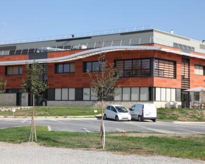 Plate-forme de L'Occitane à Manosque (04)