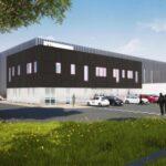 Nouvelle plate-forme logistique construite à Fontenoy sur Moselle pour Alderan